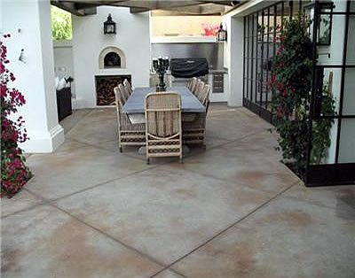 Concrete Patios Photo Gallery