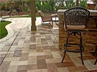 Five Outdoor Concrete Floor Ideas