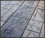Using Decorative Borders To Enhance Concrete Patios